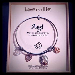 Love this Life Bangle Bracelet